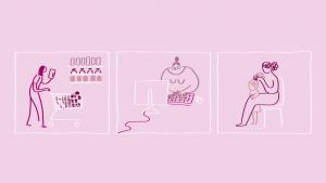 הצגת תוצאות מחקר מה נשים צריכות בגיל המעבר 2020